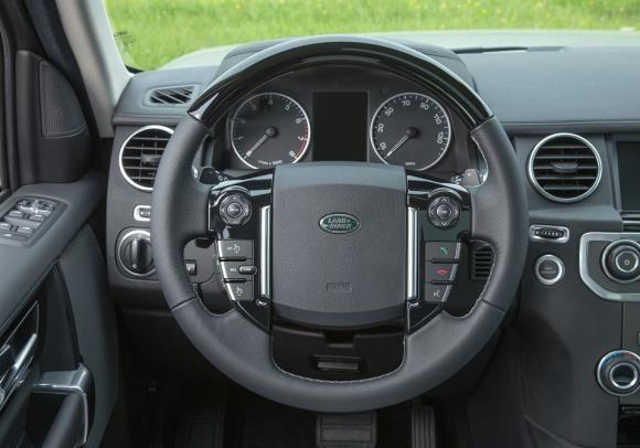 Land Rover Discovery posto guida