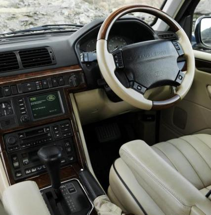 Land Rover Range Rover seconda serie interni