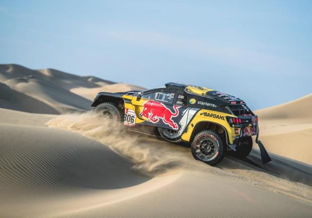 dakar 2019 loeb vince la 2 tappa patentati. Black Bedroom Furniture Sets. Home Design Ideas