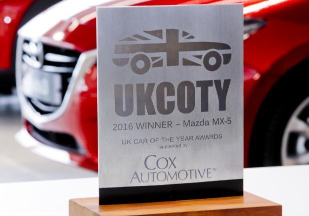 Mazda Mx-5 UK Awards