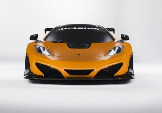 McLaren MP4 12-C Can-Am Edition anteriore