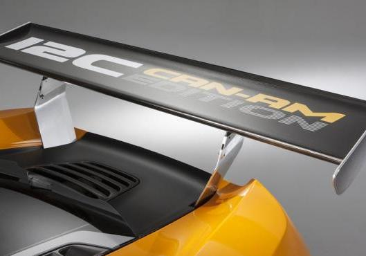 McLaren MP4 12-C Can-Am Edition dettaglio alettone