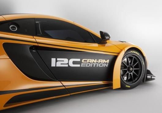 McLaren MP4 12-C Can-Am Edition dettaglio laterale
