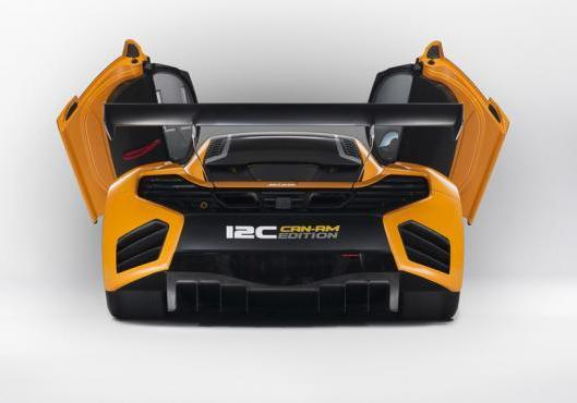 McLaren MP4 12-C Can-Am Edition posteriore portiere aperte