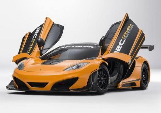 McLaren MP4 12-C Can-Am Edition tre quarti anteriore portiere aperte