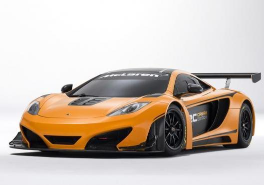 McLaren MP4 12-C Can-Am Edition tre quarti anteriore