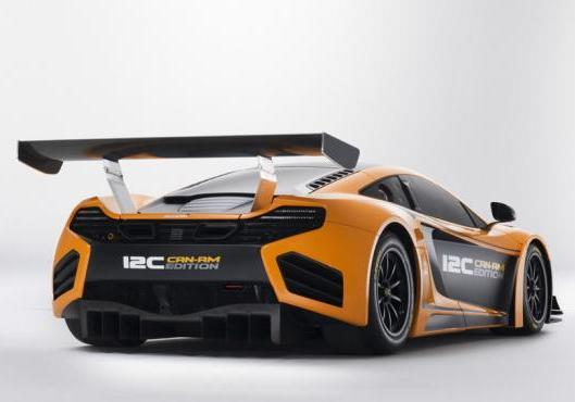 McLaren MP4 12-C Can-Am Edition tre quarti posteriore