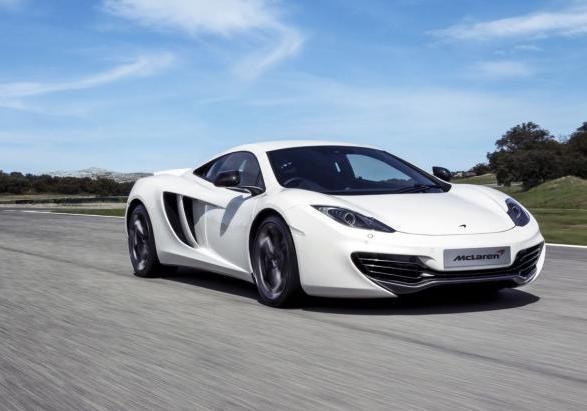 McLaren MP4-12C my 2013 tre quarti anteriore lato destro