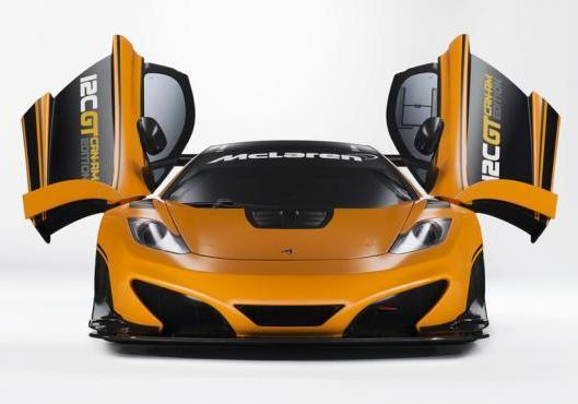 McLaren MP4 12C GT Can-Am Edition anteriore