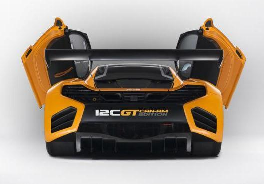 McLaren MP4 12C GT Can-Am Edition posteriore