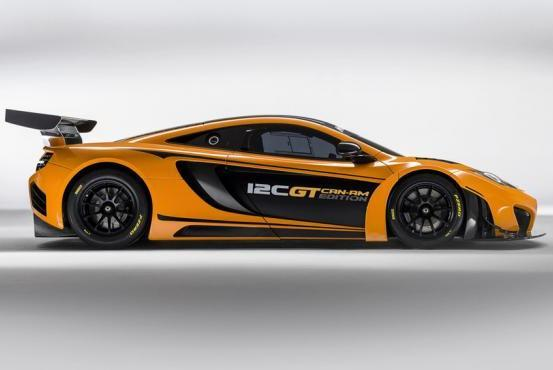 McLaren MP4 12C GT Can-Am Edition profilo