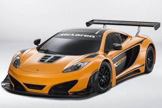 McLaren MP4 12C GT Can-Am Edition tre quarti anteriore