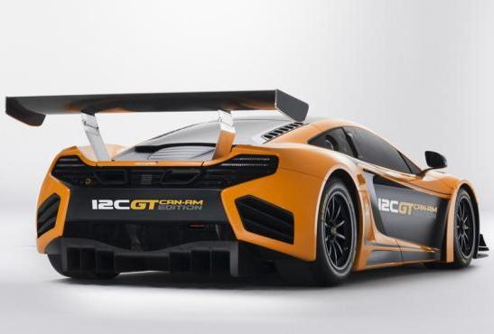 McLaren MP4 12C GT Can-Am Edition tre quarti posteriore