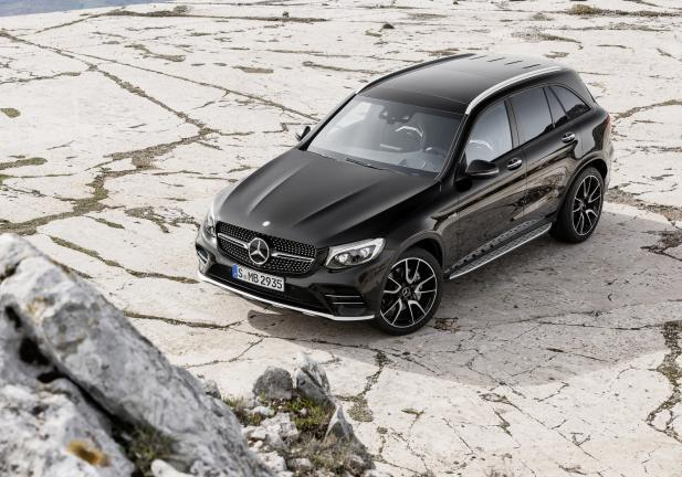 Mercedes AMG GLC 43 4MATIC statica