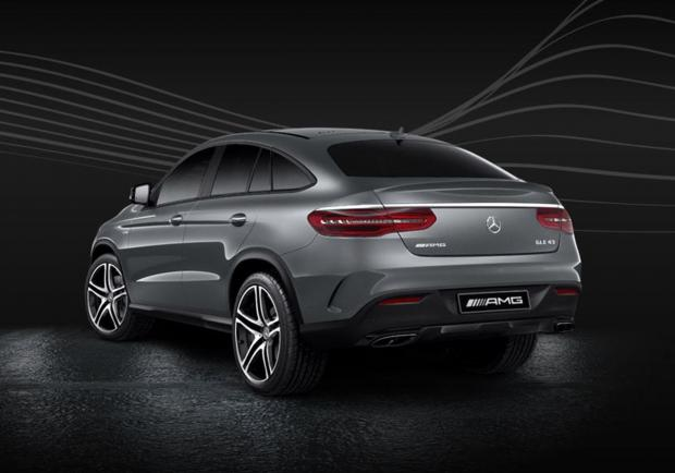 Mercedes-AMG GLE Coupé Serie Speciale Race Edition posteriore
