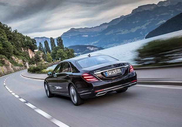 Mercedes-Benz Classe S 400 restyling 2017 posteriore