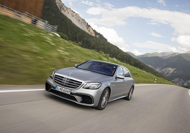Mercedes-Benz Classe S 63 AMG restyling 2017 anteriore