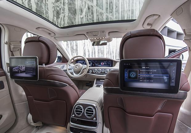 Mercedes-Benz Classe S restyling 2017 tetto panoramico