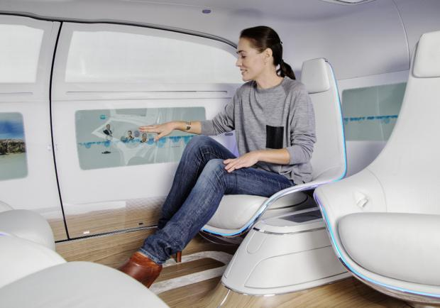 Mercedes-Benz F 015 Luxury in Motion interni