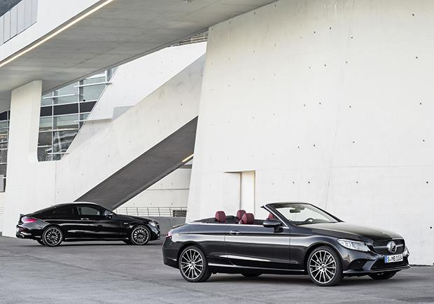 Mercedes, C come Coupé e Cabriolet 01