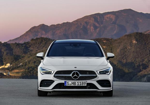 Mercedes CLA Shooting Brake 2020 anteriore