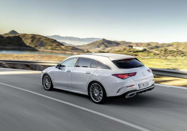 Mercedes CLA Shooting Brake 2020 foto