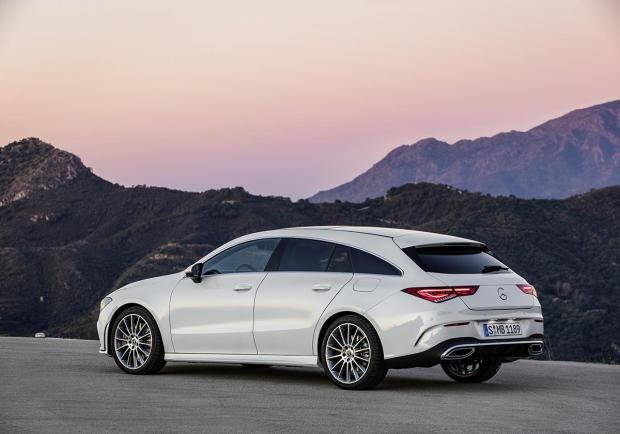 Mercedes CLA Shooting Brake 2020 immagine