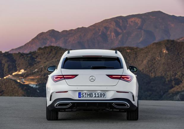 Mercedes CLA Shooting Brake 2020 posteriore