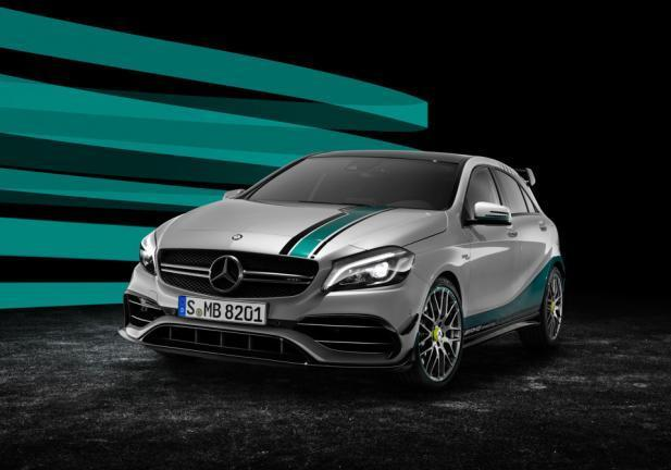Mercedes Classe A AMG Special Edition frontale