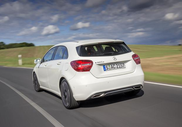 Mercedes Classe A restyling 2015 posteriore