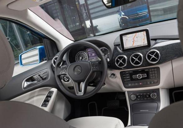 Mercedes Classe B Electric Drive interni
