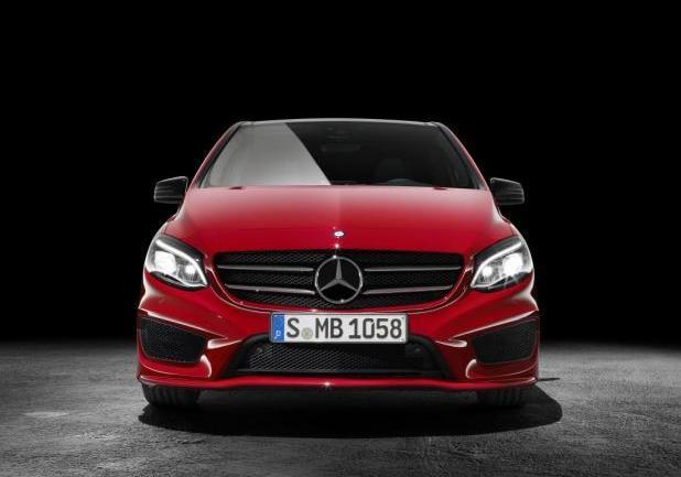 Mercedes Classe B restyling 2014 anteriore