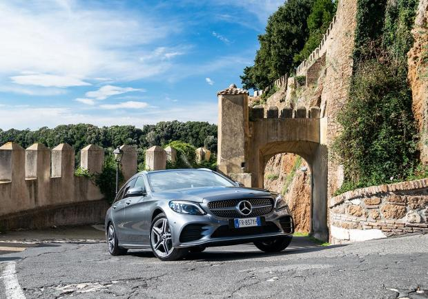 Mercedes Classe C SW restyling 2018