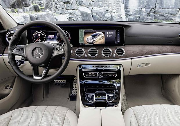 Mercedes Classe E 220d All-Terrain interni