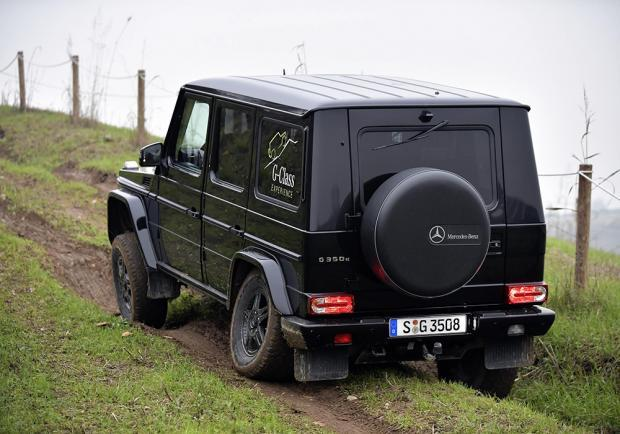 Mercedes Classe G test off-road