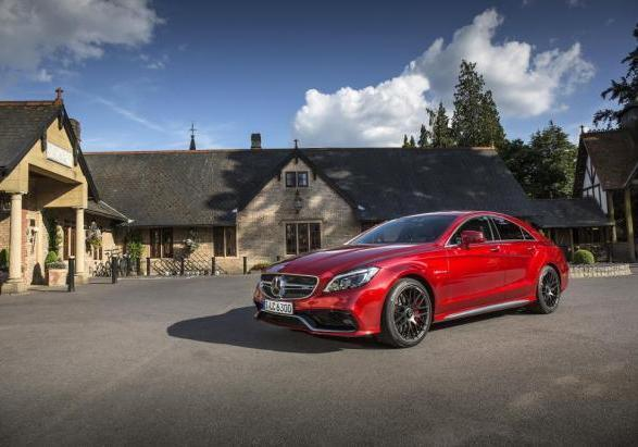 Mercedes CLS 63 AMG S 4Matic restyling 2014