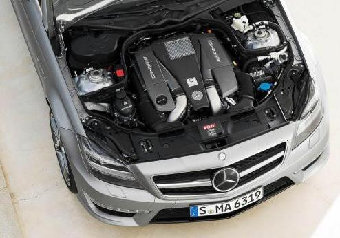 Mercedes CLS Shooting Brake 63 AMG motore