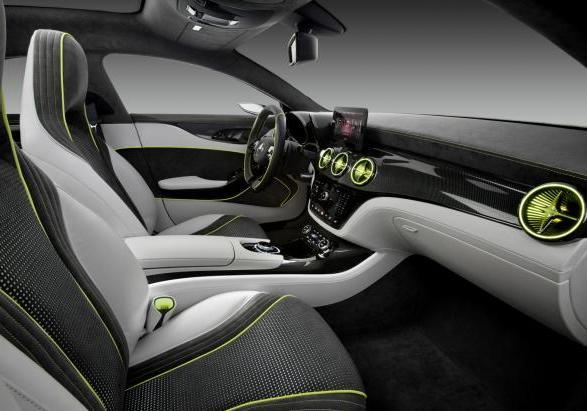 Mercedes Concept Style Coup� abitacolo laterale
