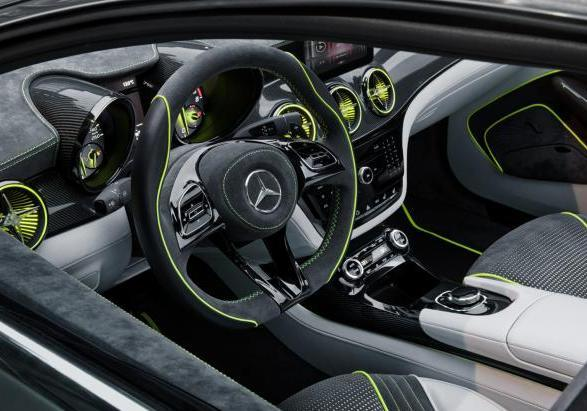 Mercedes Concept Style Coupé interni