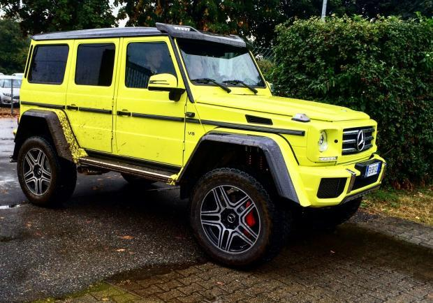 Mercedes gamma 4MATIC G 500 4X42 tre quarti