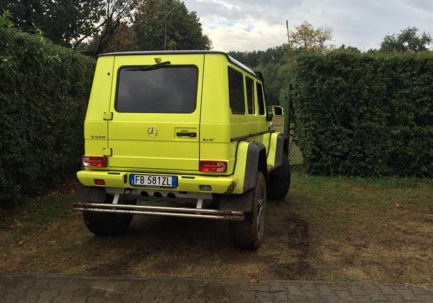 Mercedes gamma 4MATIC G 500 4X42