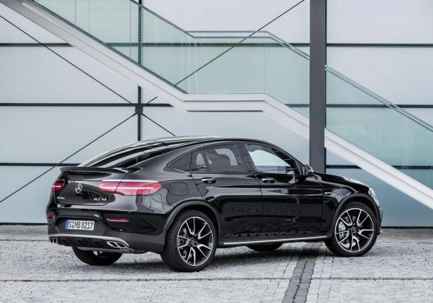 Mercedes GLC Coupé 43 4MATIC tre quarti posteriore
