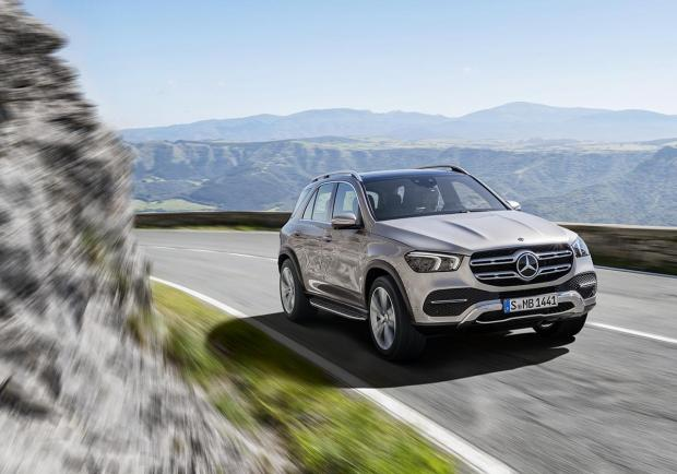 Mercedes GLE 2019 test drive