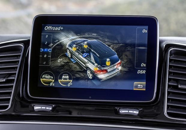 Mercedes GLE prime impressioni display