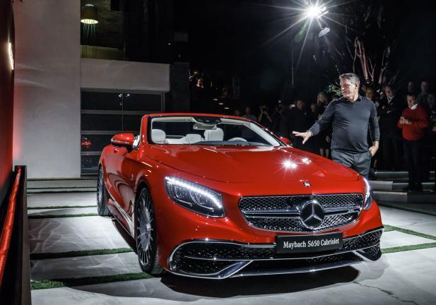 Mercedes Maybach 650 S fronte