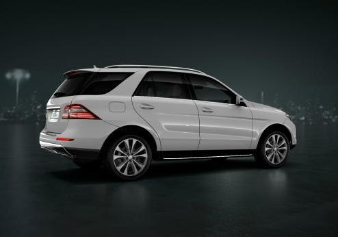 Mercedes ML Special Edition 16 profilo