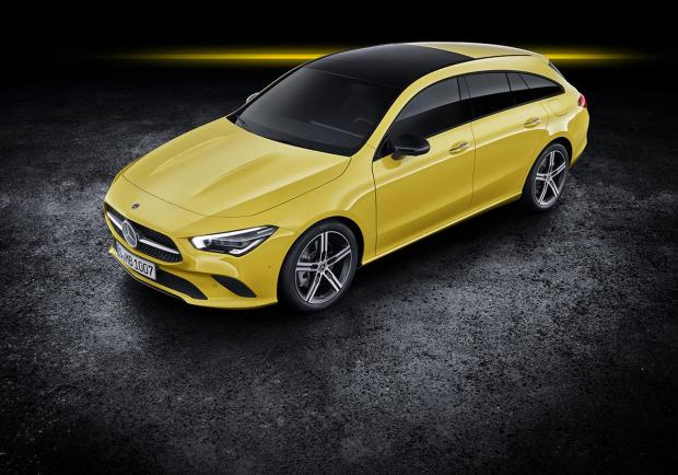 Mercedes, presentata la nuova CLA Coupé e Shooting Brake 05