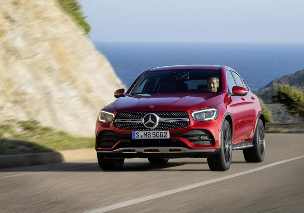 Mercedes, la nuova GLC Coupé 01