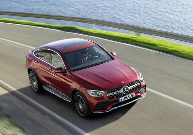 Mercedes, la nuova GLC Coupé 02