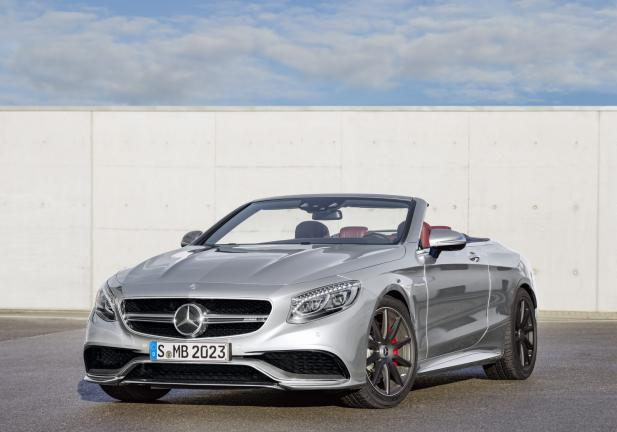 Mercedes S 63 AMG Cabrio 130 Edition frontale